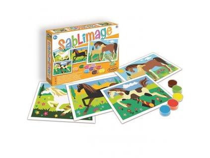 Sablimage: Pískové obrázky - Koně