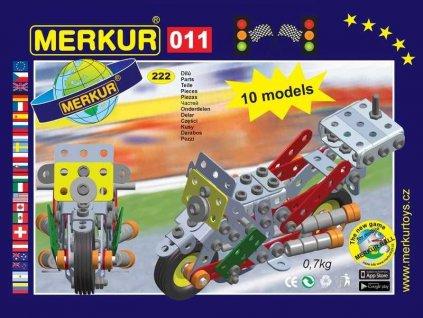 Merkur 011 Motocykl - 222 dílů