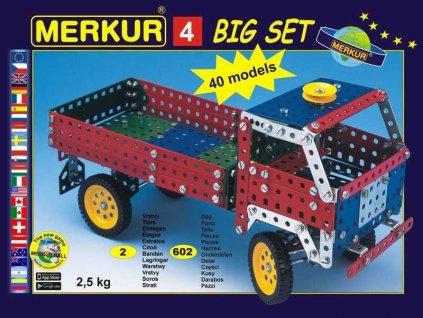 Merkur 4 Big set - 602 dílů