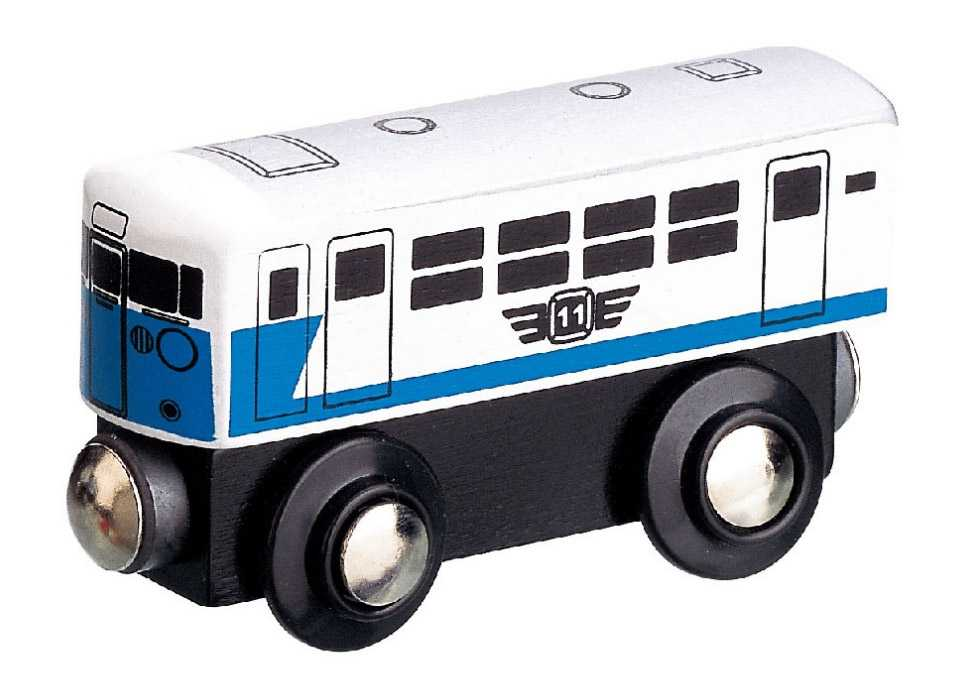 Maxim Dřevěný osobní vagón moderní