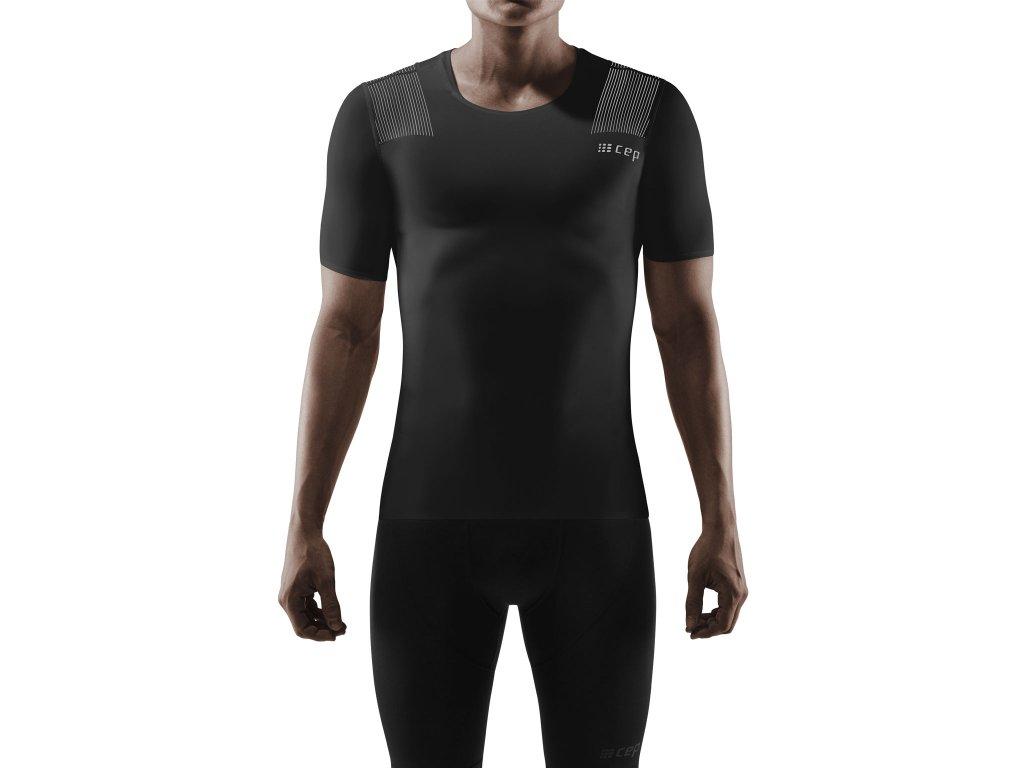 Wingtech Shirt SS black m front model 1536x1536px