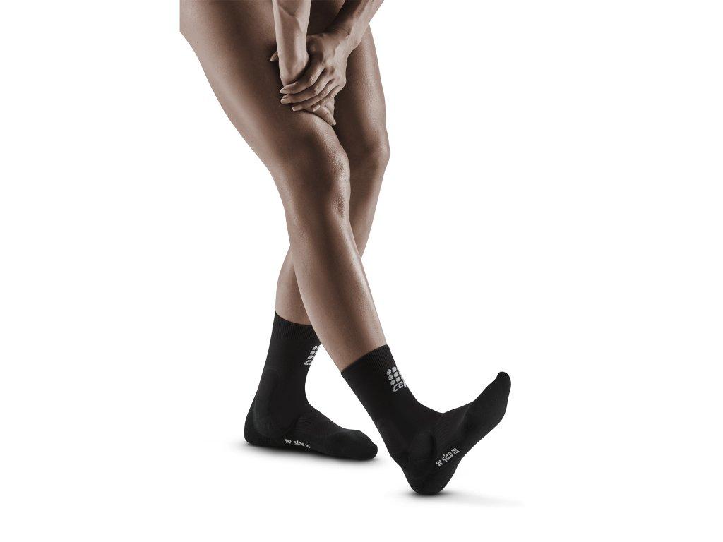 Ankle Support Short Socks black w front model 1536x1536px