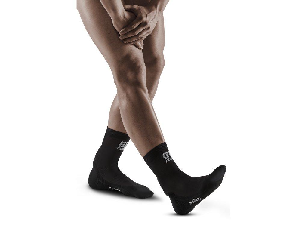 Achilles Support Short Socks black m front model web 1536x1536px