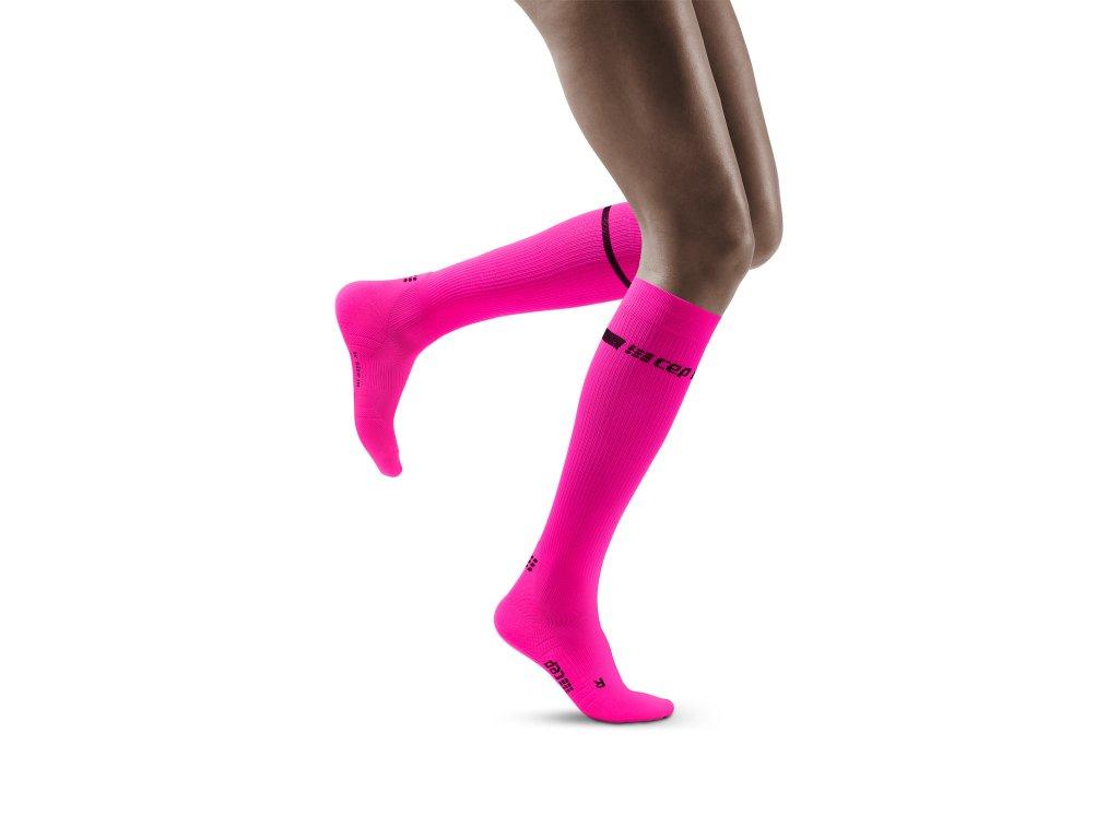 Neon Socks neonpink w front model 1536x1536px