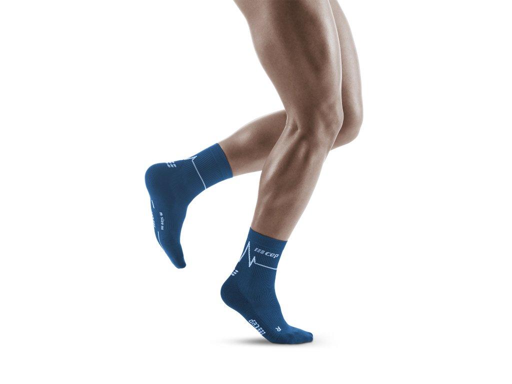 Heatbeat Mid Cut Socks ocean wave m front model 1536x1536px