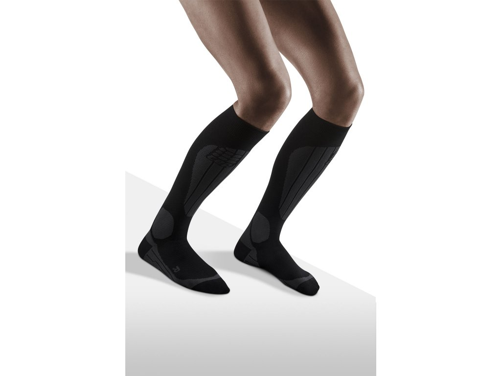 Ski Thermo Socks black anthracite w front model 1536x1536px