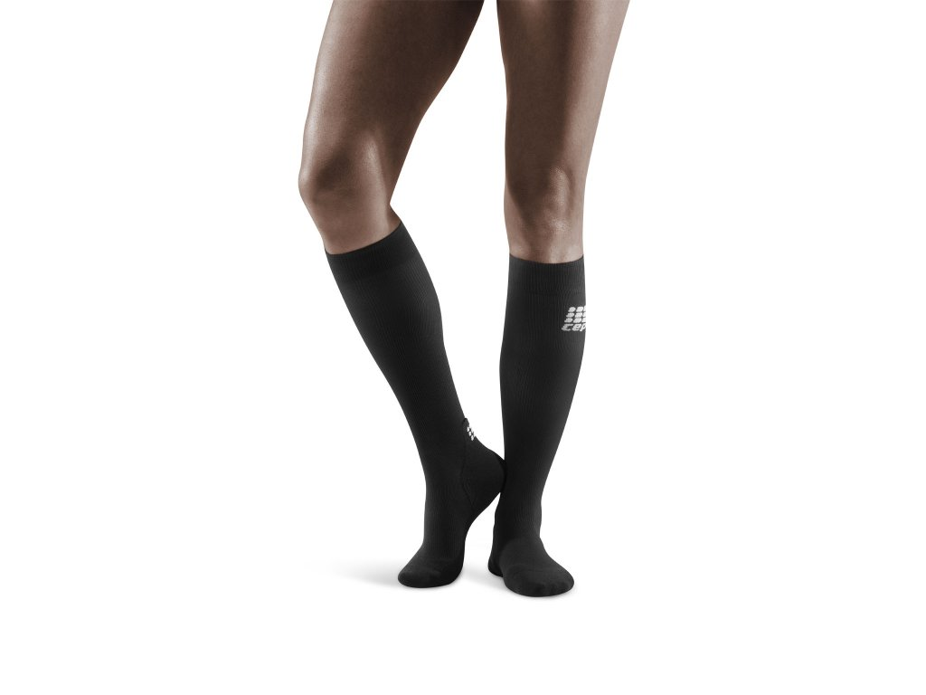 Socks for Recovery black w front model 1536x1536px
