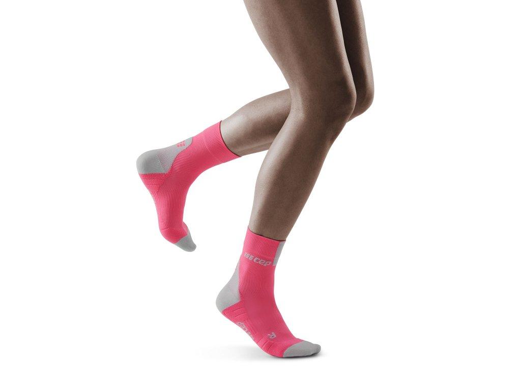 Run Short Socks 3 0 rose grey w front model 1536x1536px