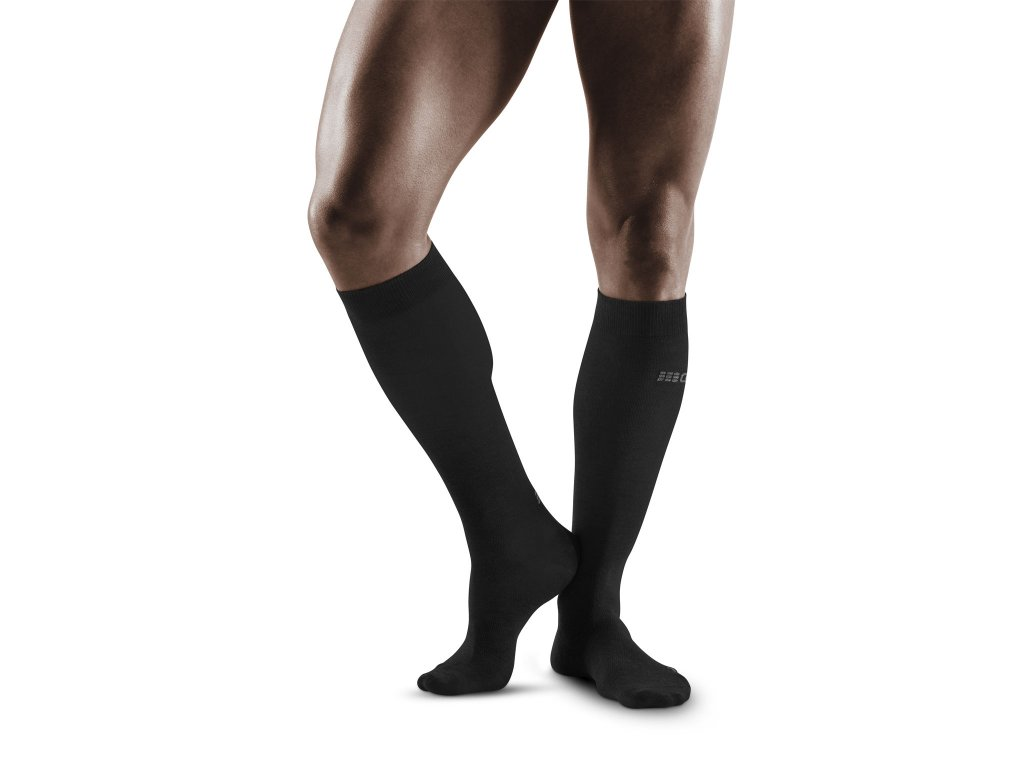 Allday Recovery Socks anthracite m front model 1536x1536px