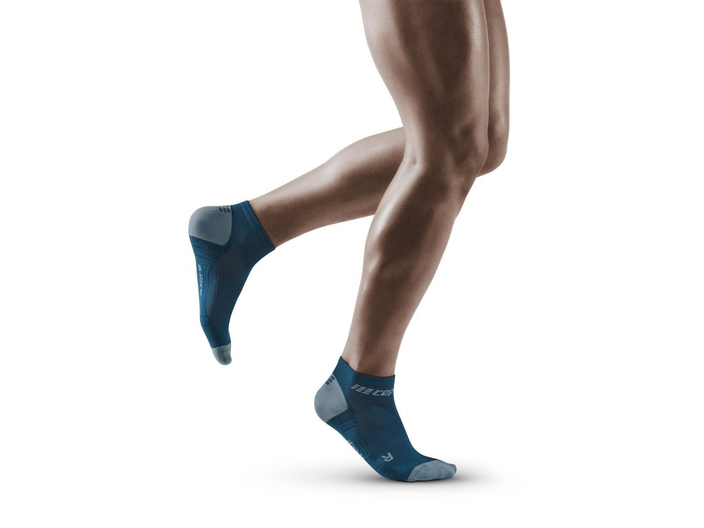 Run Low Cut Socks 3 0 blue grey m front model 1536x1536px