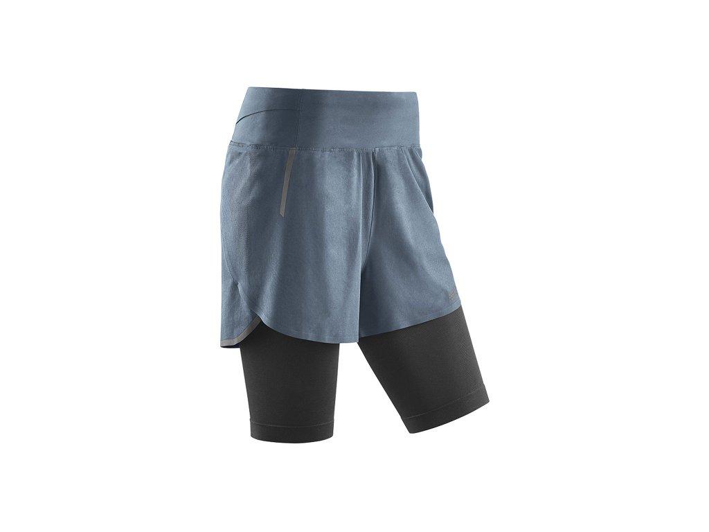 Běžecké šortky 2 v 1 (3.0) Dámské