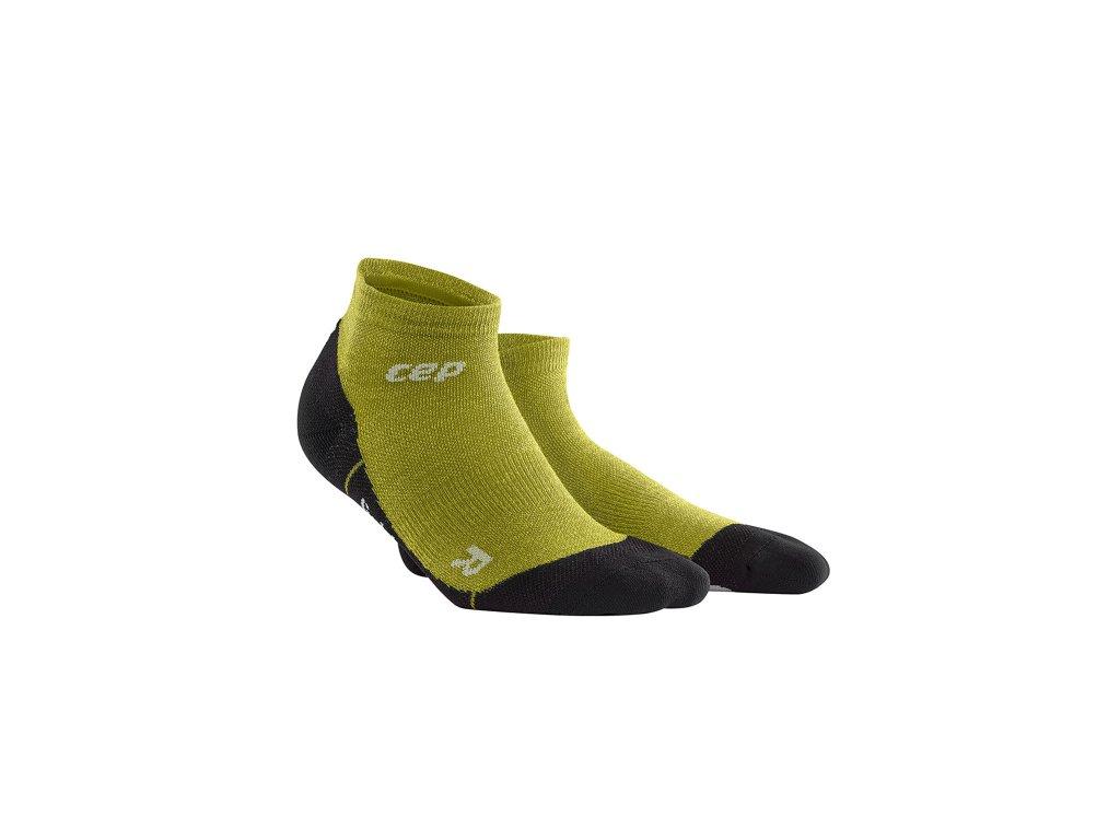 Outdoorové kotníkové ponožky ULTRALIGHT MERINO Dámské