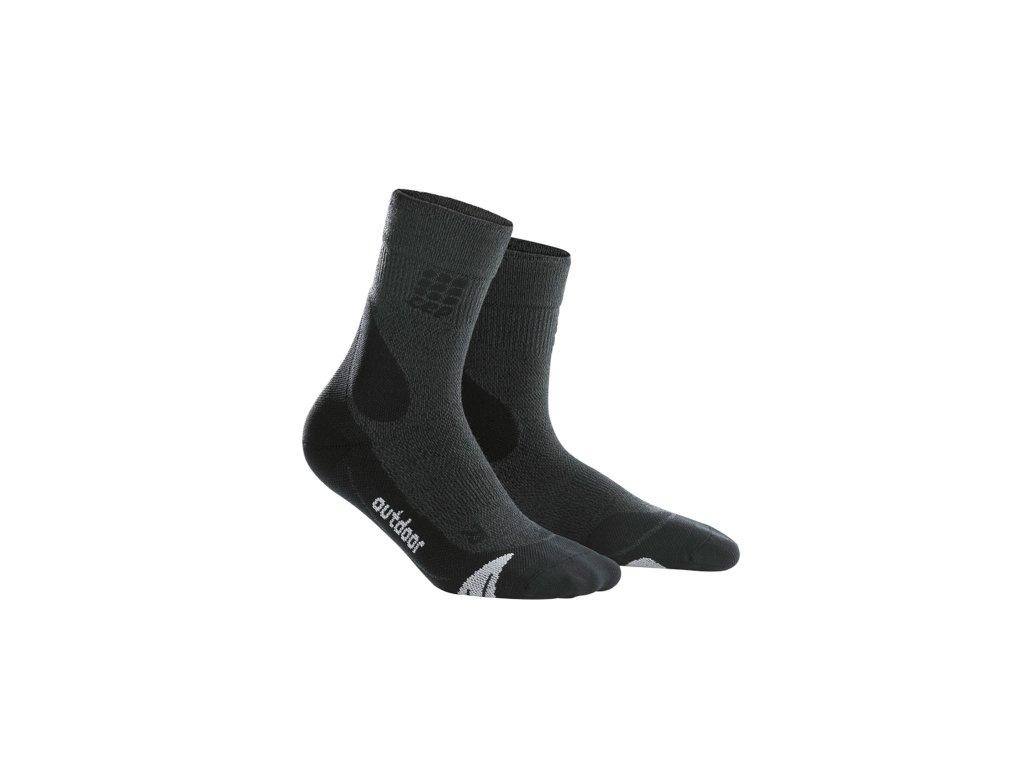 Outdoorové ponožky MERINO Dámské