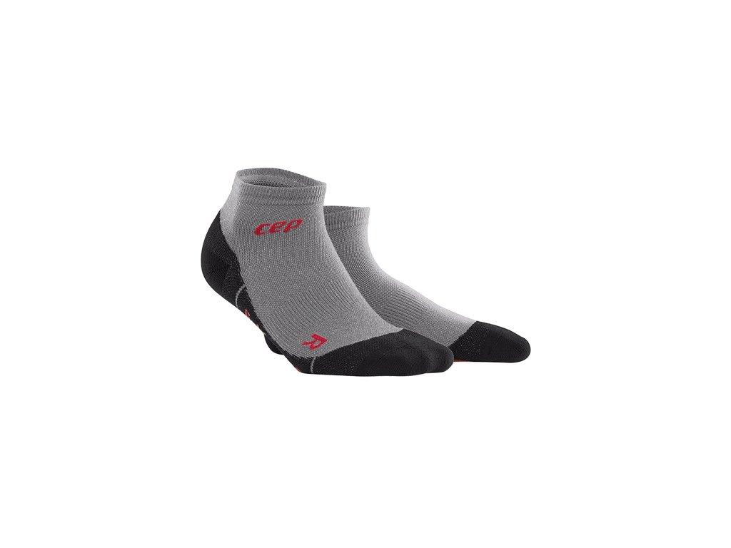 Outdoorové kotníkové ponožky ULTRALIGHT MERINO Pánské