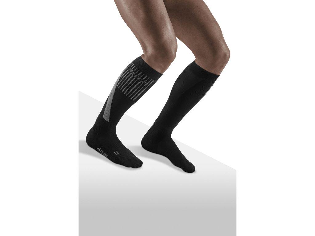 Ski Touring Socks black m front model 1536x1536px