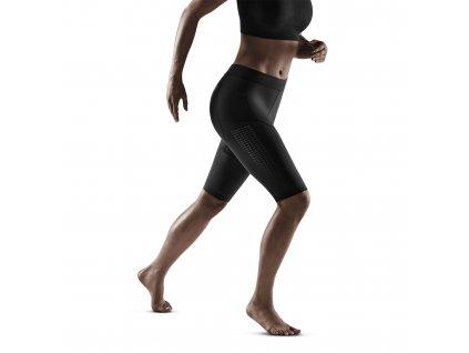 Run Compression Shorts 3 0 black w front model 1536x1536px