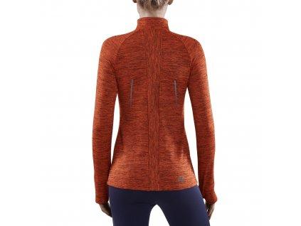 Winter Run Shirt LS rose melange w front model 1536x1536px
