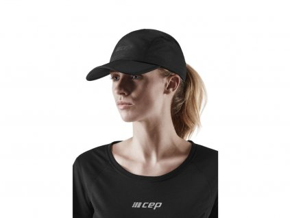 Running Cap black w front model 1 1536x1536px