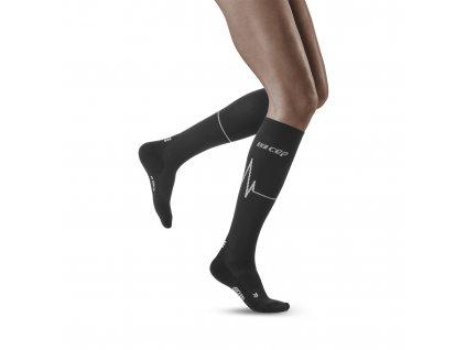 Heartbeat Socks dark clouds w front model 1536x1536px