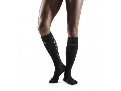 Recovery Pro Socks black w front model 1536x1536px