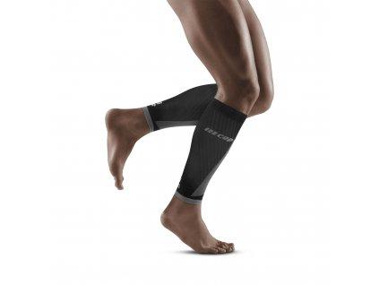Ultralight Pro Calf Sleeves black lightgrey m front model 1536x1536px