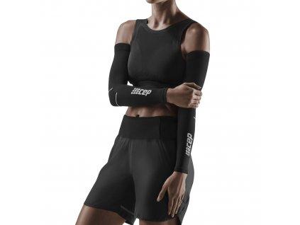 Arm Sleeves black grey w front model 1536x1536px