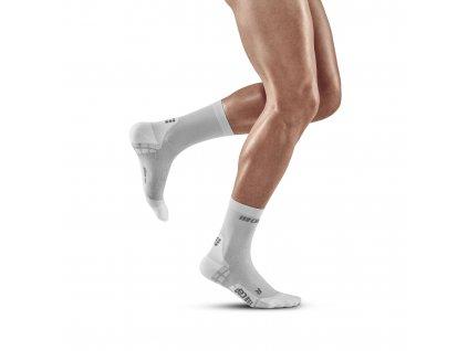 Ultralight Short Socks electricblue lightgrey m front model 1536x1536px