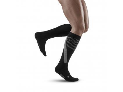 Cold Weather Socks black m front model 1536x1536px