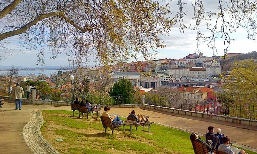 10 skrytých vyhlídek v Lisabonu