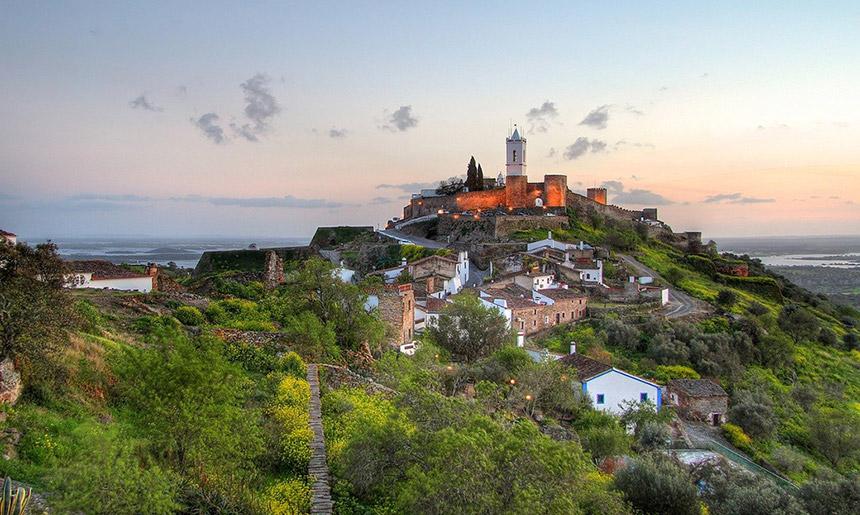 Alentejo - malebná města a středověké hrady