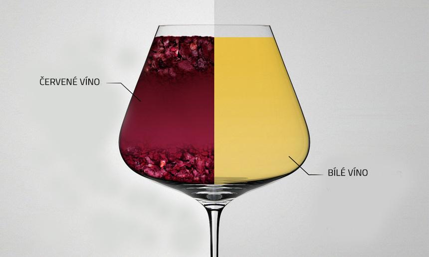 Červené vs. bílé víno, v čem se liší
