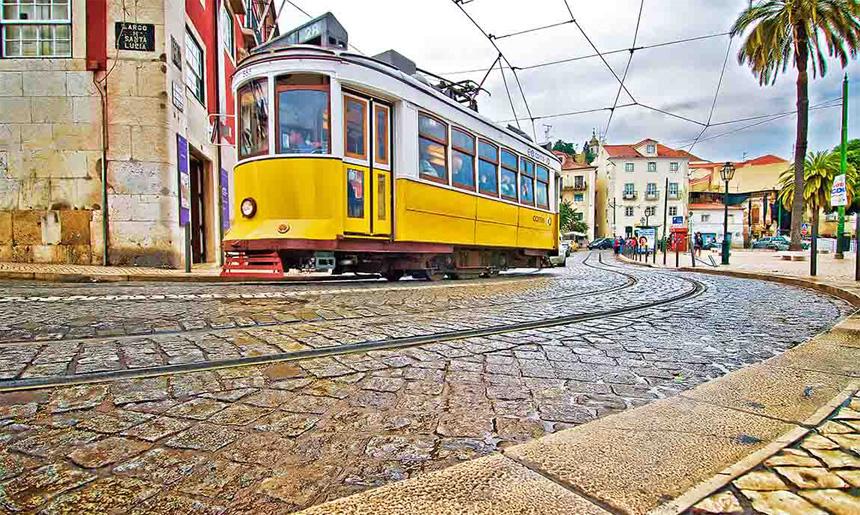 Miniprůvodce městskou hromadnou dopravou v Lisabonu