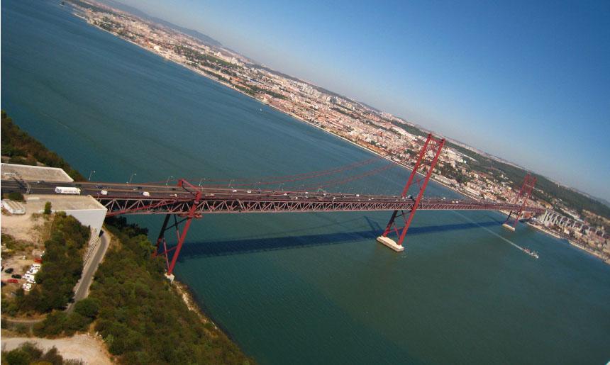 Místo, odkud máte Lisabon jako na dlani
