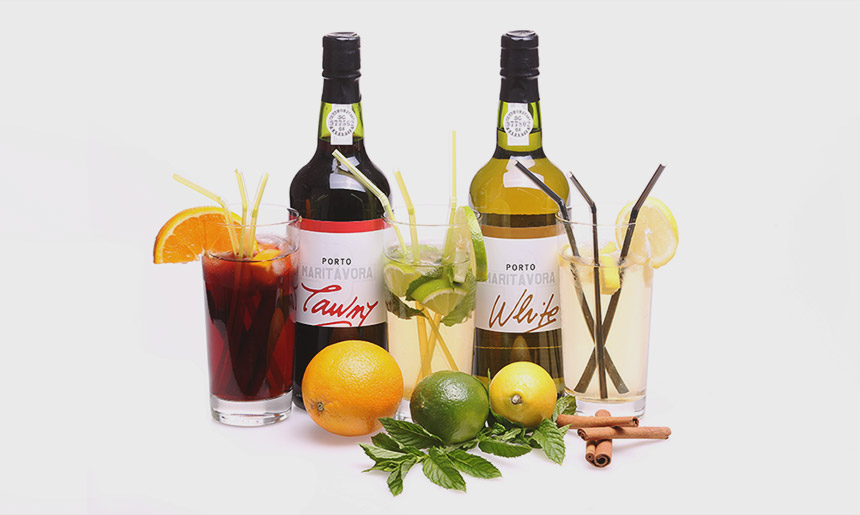 Koktejly z portugalských vín