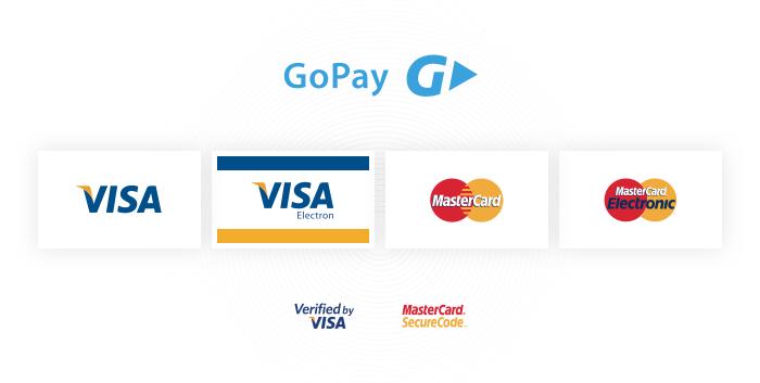 Plaťte svůj nákup platební kartou