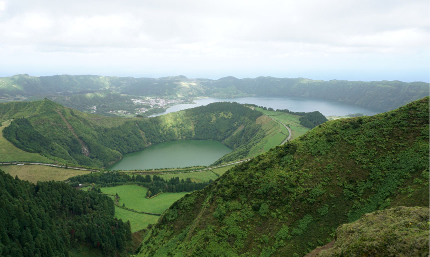 Sao Miguel, zelený klenot uprostřed Atlantiku