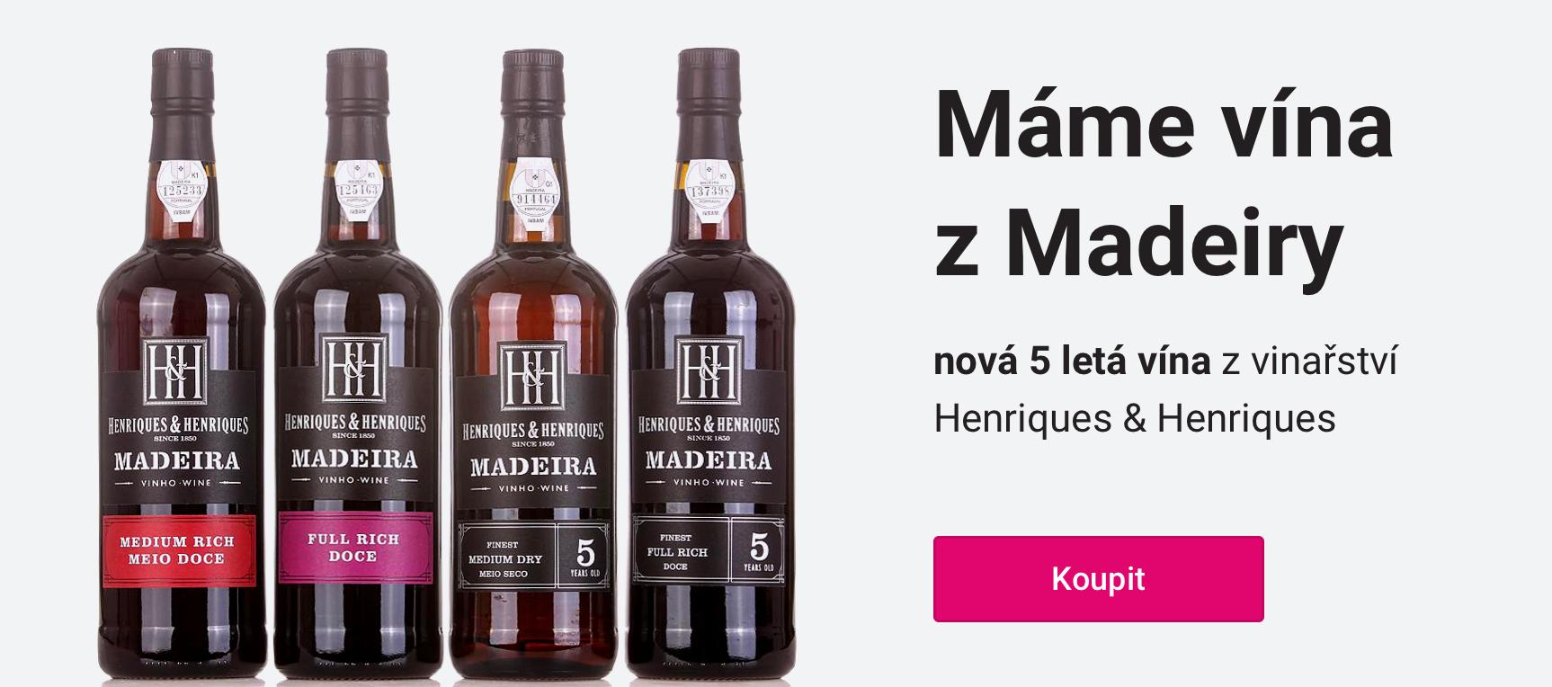 Máme vína z Madeiry