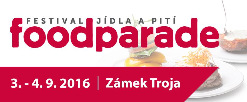 Festival jídla a pití Foodparade 2016