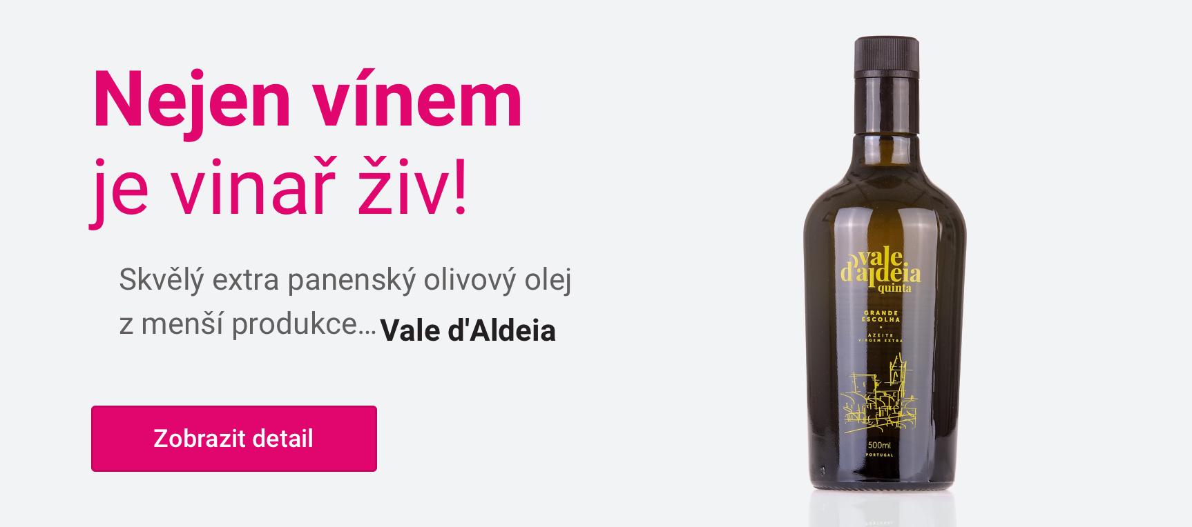 Extra panenský olivový Vale d'Aldeia