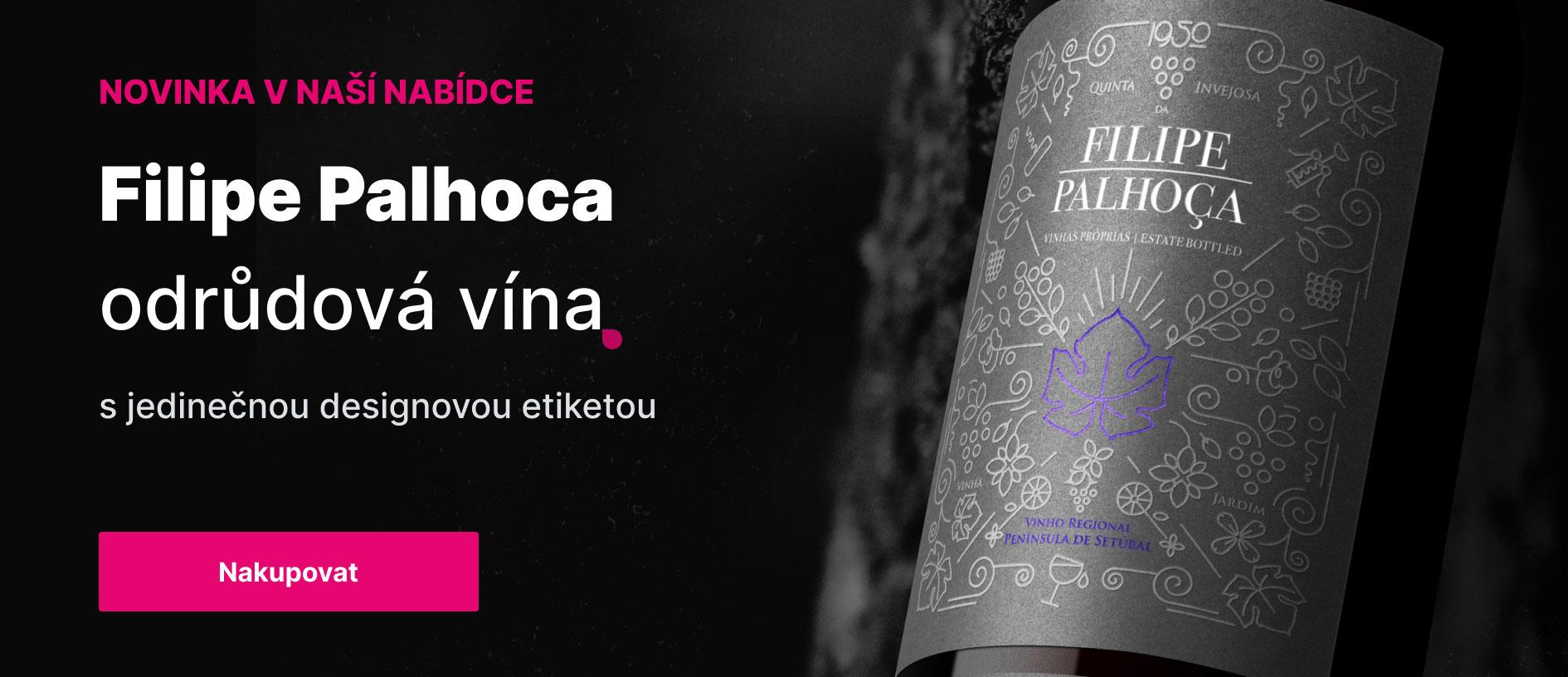 Filipe Palhoca odrůdová vína