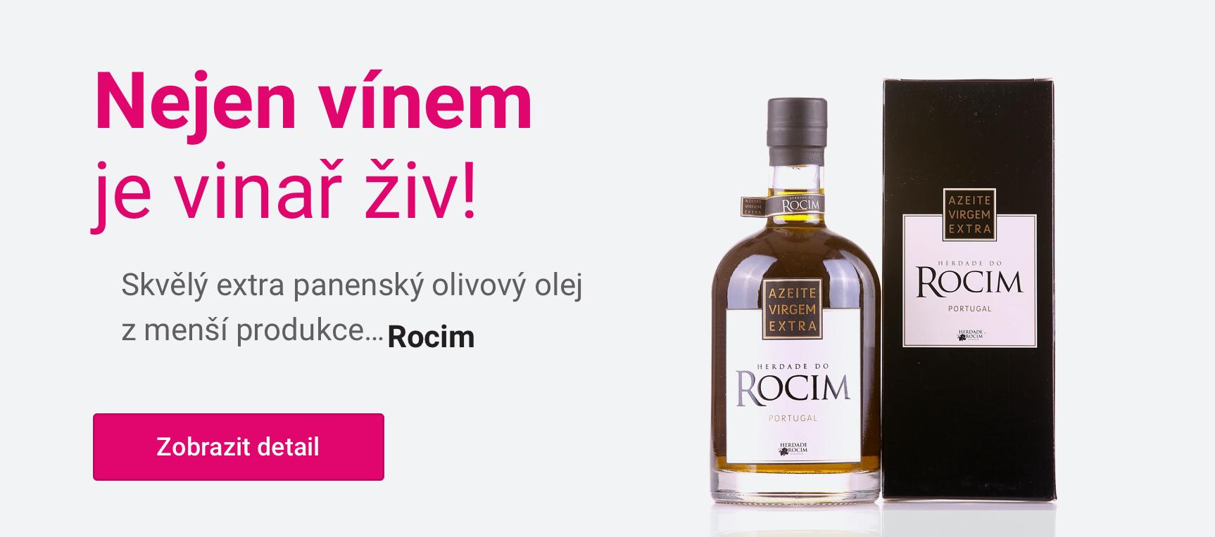 Extra panenský olivový olej Rocim 500 ml