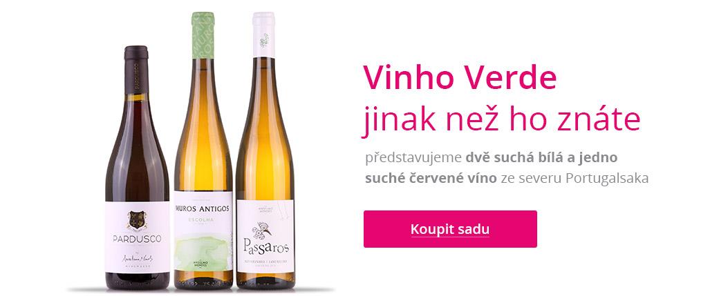 Osvěžující zelená vína Vinho Verde
