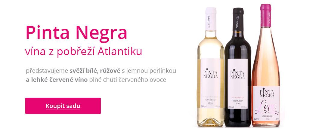Pinta Negra - vína z pobřeží Atlantiku
