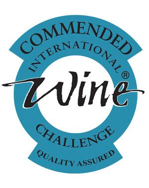 Commended International Wine Challenge