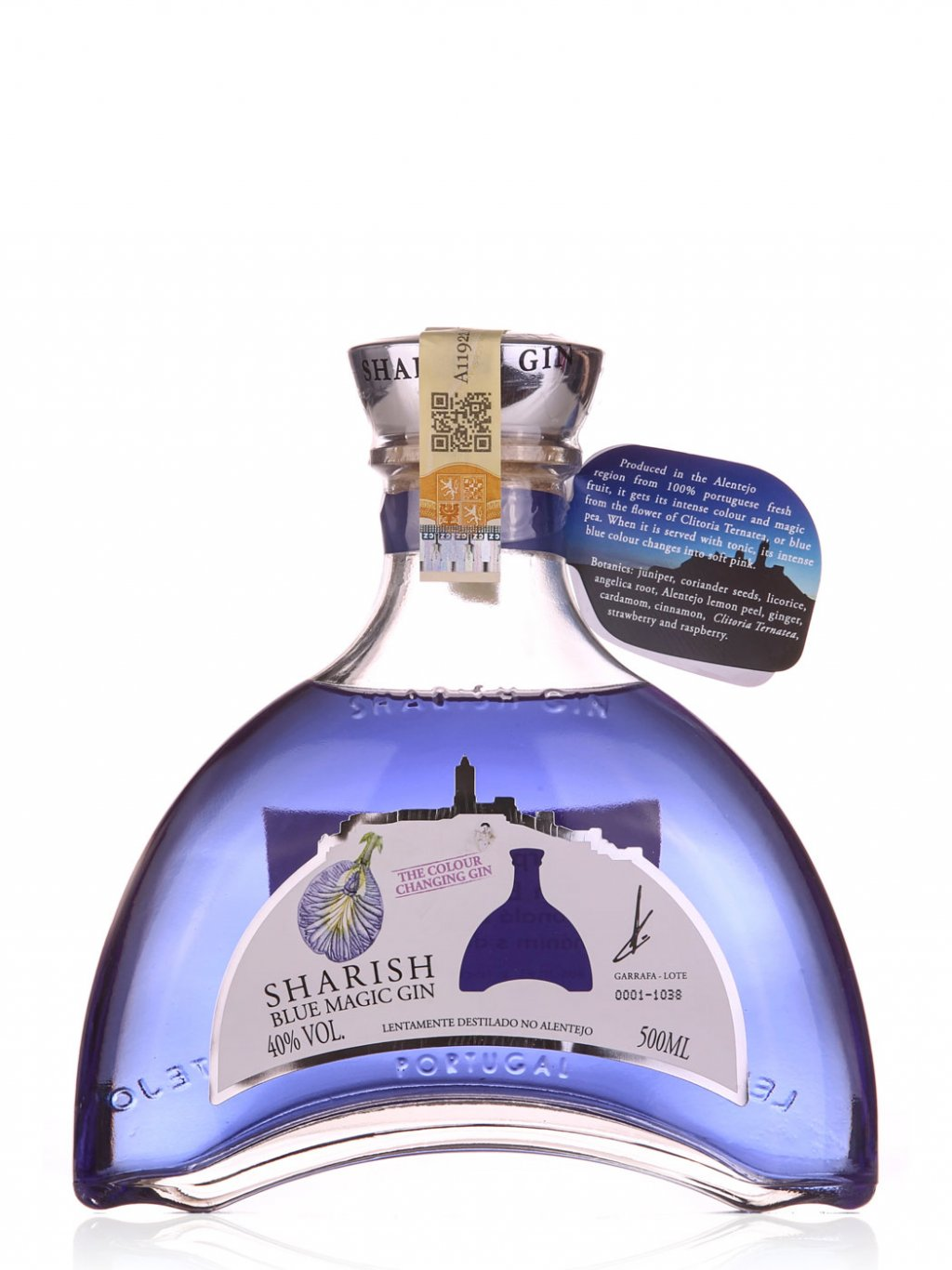 Sharish Blue Magic Gin 500ml