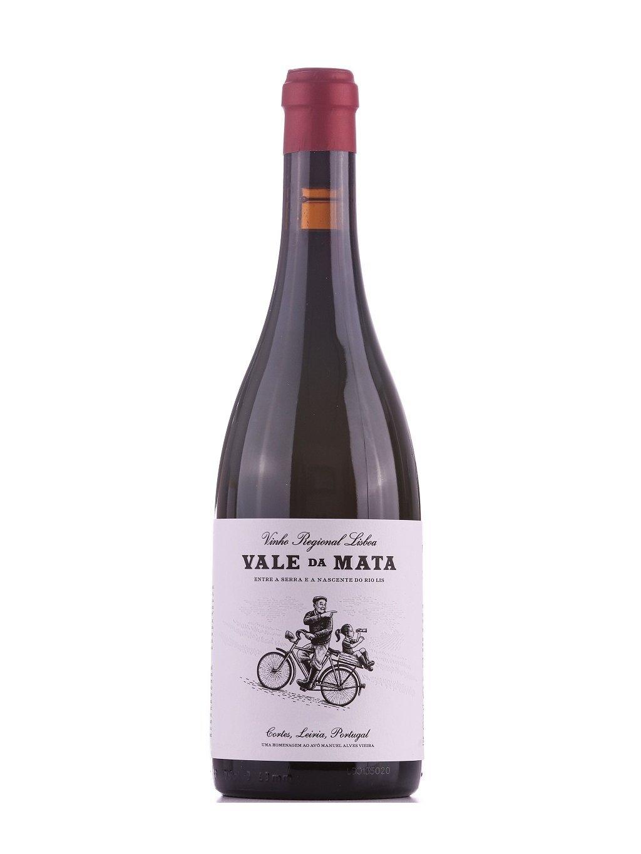 nefiltrované červené víno Vale da Mata 2016