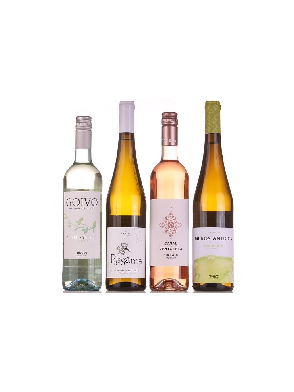 nové ročníky zelených vín Vinho Verde