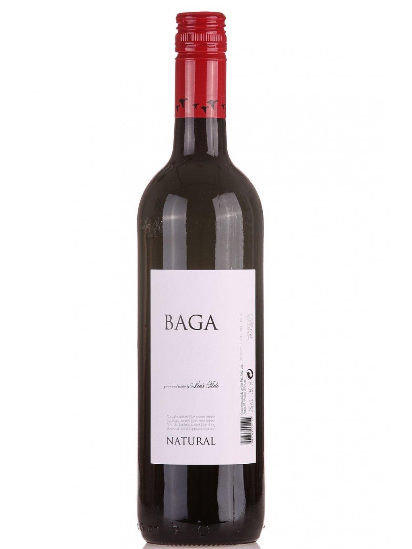 červené víno Baga Natural bez siřičitanů