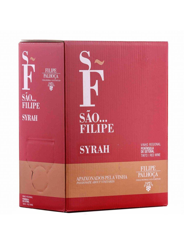Syrah bag in box červené víno 3 litry