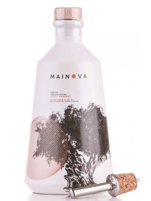 luxusní olivový olej Mainova Early Harvest v keramické nádobě